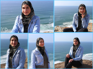 Batoul's Grad Photoshoot Collage