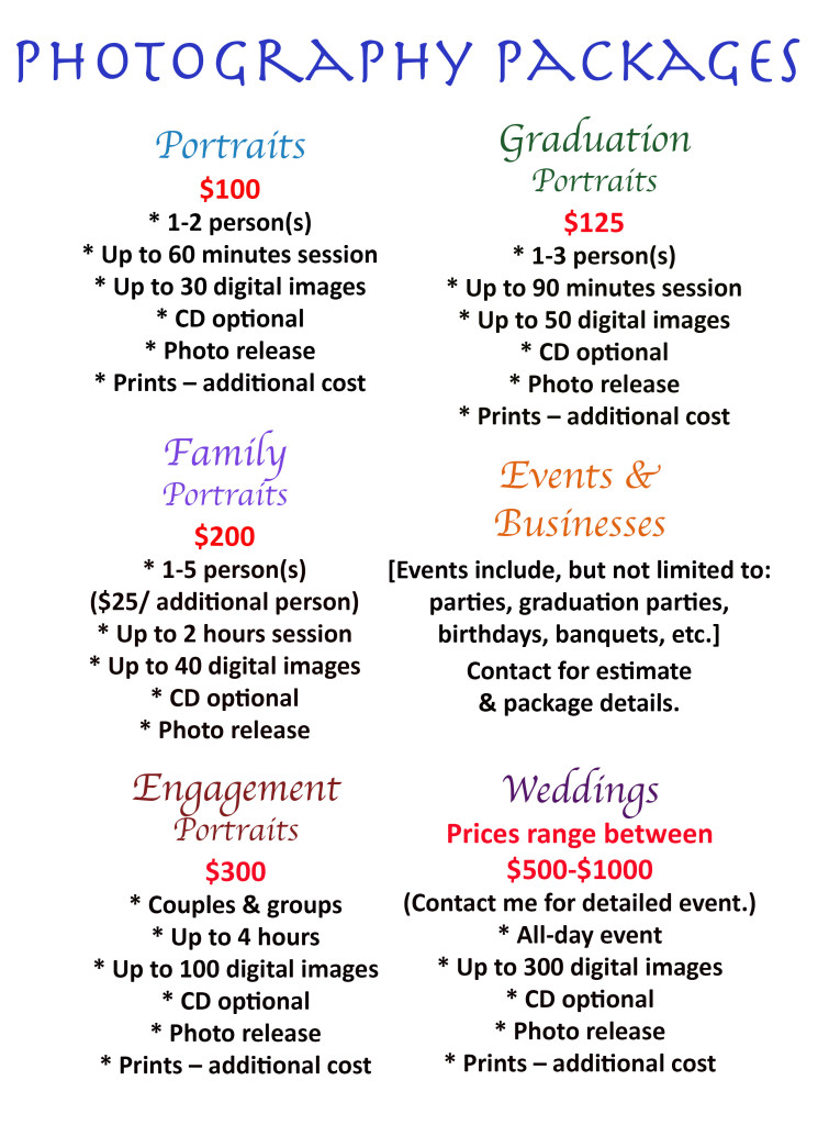 Photo Packages [changes2]